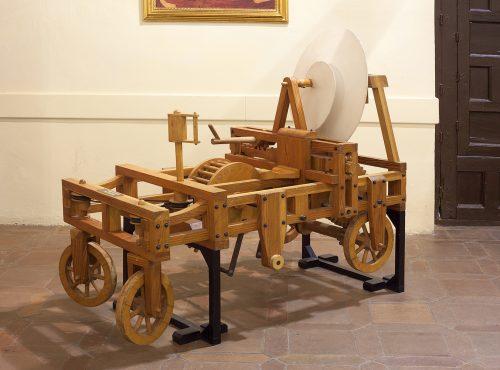 Leonardo máquina