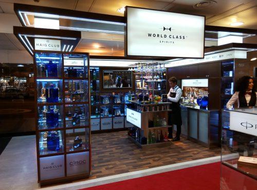 Tienda de bebidas premium World Class