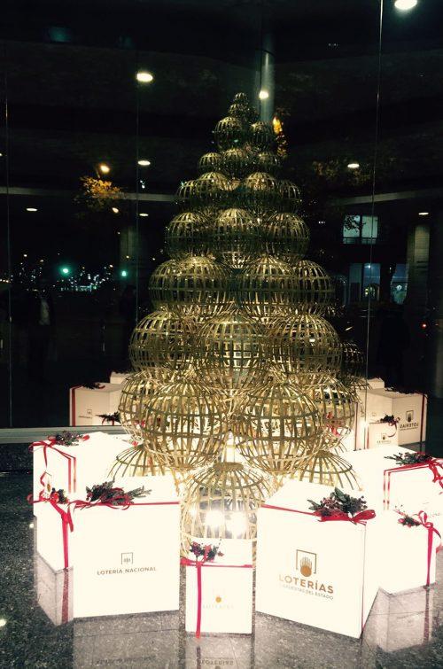 Árbol Lotería de Navidad