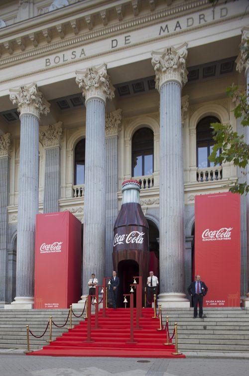 Salida a bolsa de Coca-cola