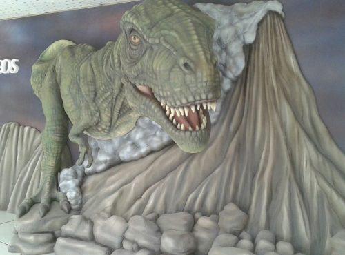 Dinosaurios para la Feria del Sello